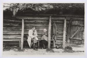 Kalamatsu talu rehemaja, Hageri kihelkond. Foto autor Ferdi-Armand Tomps. 1959. EVM F 29:5
