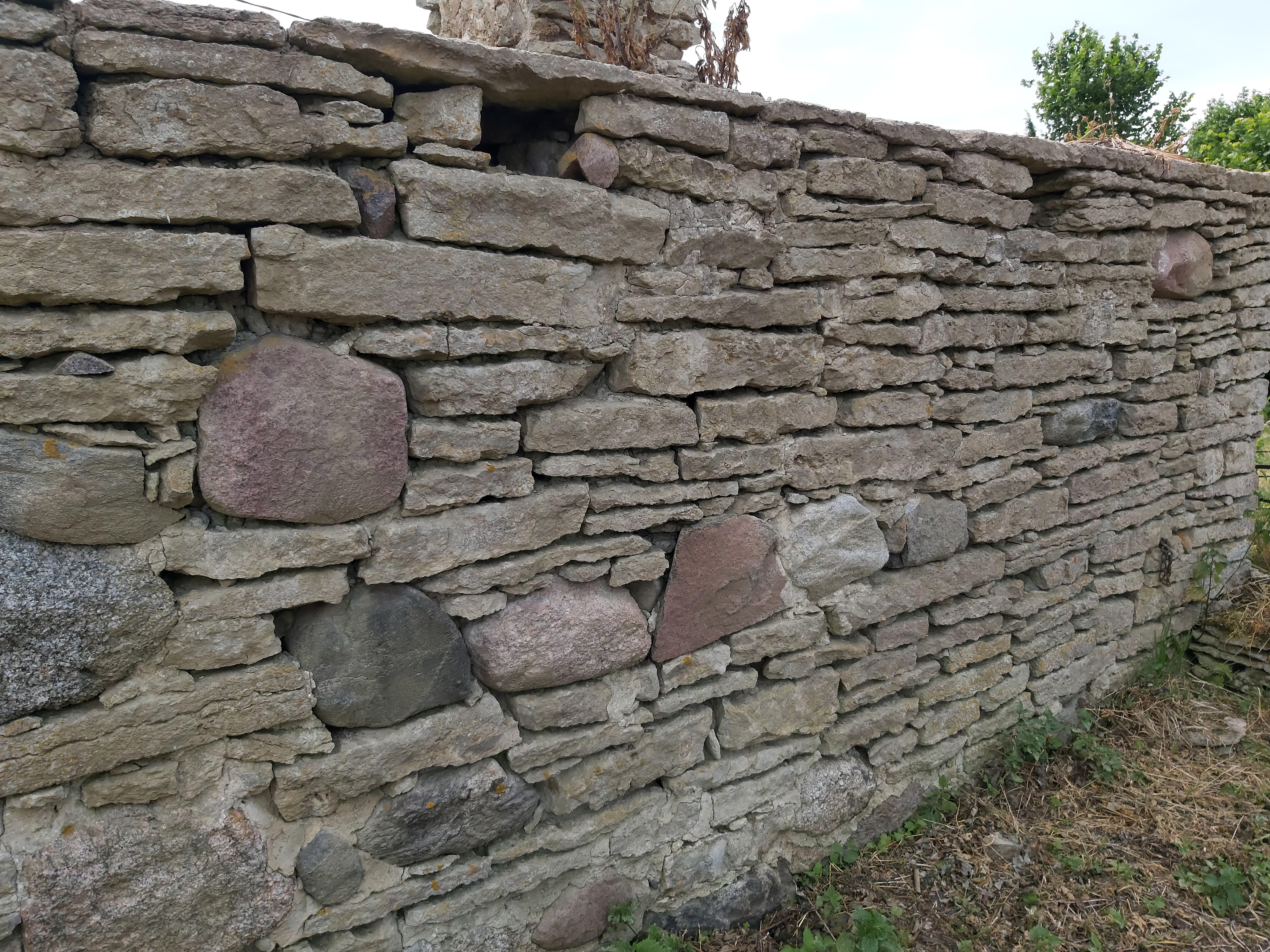 Paekivimüüri taastamise praktikum